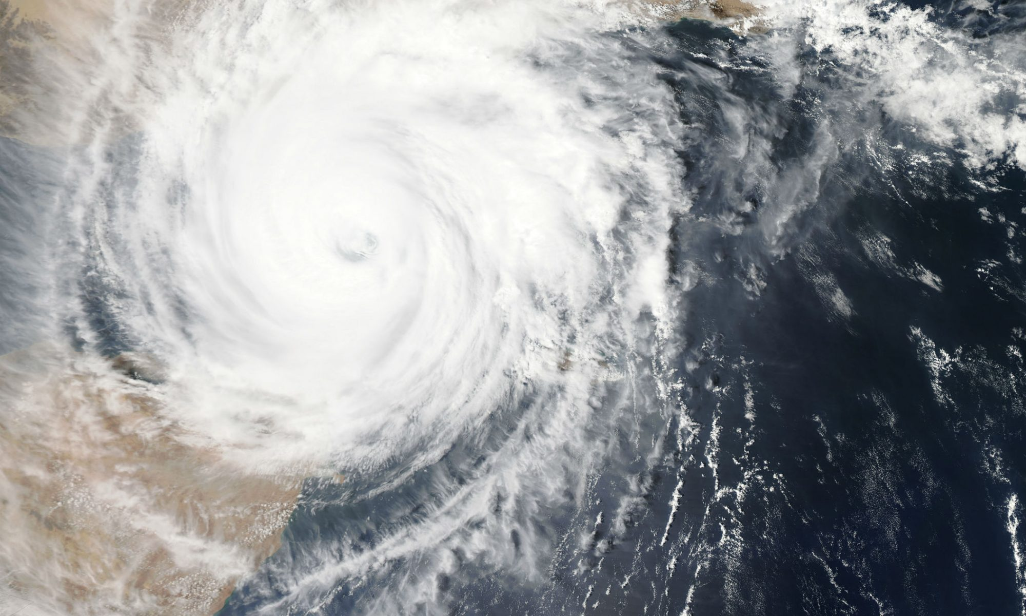 Cyclone. Photo by NASA on Unsplash
